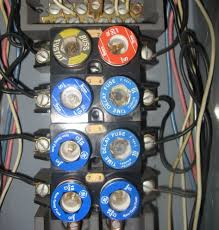 A fuse panel