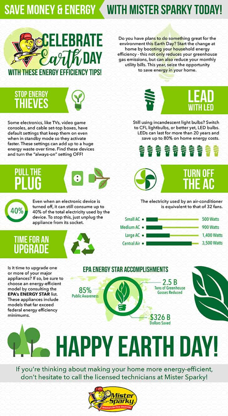 Energy Efficiency Infographic