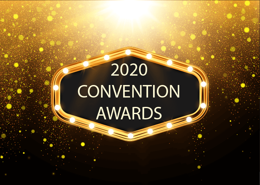 2020 convention awards